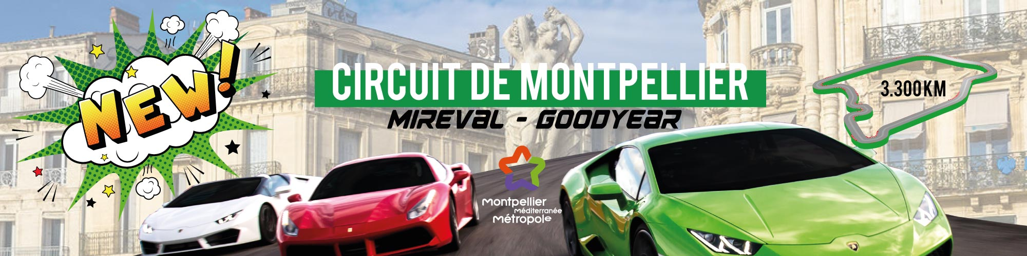 circuit de montpellier goodyear mireval