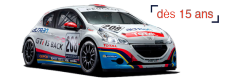 STAGES RACING PEUGEOT 208